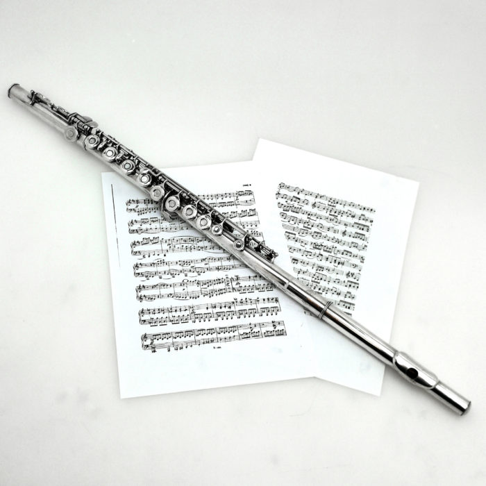RARE STERLING SILVER FLUTE 1963 MUSICAL INSTRUMENT